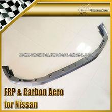 For Nissan R35 GTR Zele Carbon Fiber Front Bumper Lip