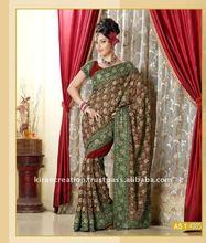 border designer saree for Bridal