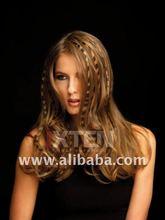 Blond Design Hair Extensions - Tattoo Hair