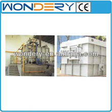 continuous oil-fired aluminum scrap reverberatory melting furnace
