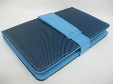 blue color for ipad case with keyboard suitable 7 inch