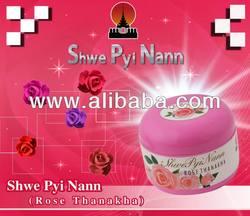 SHWE PYI NANN ROSE THANAKHA