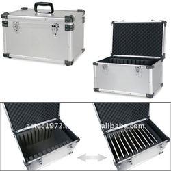 Aluminum luggage case for iPad laptop tablet (10pcs)