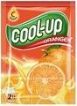 con sabor a naranja bebida en polvo