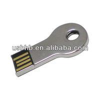 Bulk cheap 512M-64GB metal key shape USB disk, free laser logo usb disk