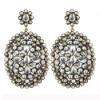 14K Gold Diamond Ethnic indian fashion Dangle Earring , Gemstone RBMS Designer Celebrity jewelry