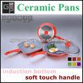 4 pcs cerâmica frigideira conjunto