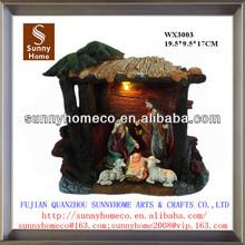 Pottery nativity ornament craft