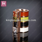 fashion jewelry crystal shamballa gold wedding ring