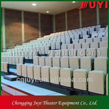 JY-768 indoor retractable bleachers seatings retractable grandstand