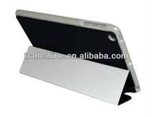 Paypal accept PU Smart leather Case for iPad Mini