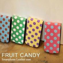Happymori Design Polka Dot Mobile Phone Case Cover for Apple iPhone 5 (Made in Korea)