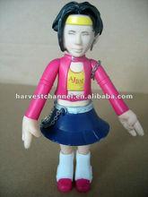 PVC toy figure;cartoon statue movable toy figure toy;3D design Pvc action figure toy