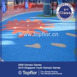 Indoor Playground Flooring Vinyl Surfaces