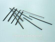 Flat steel fiber