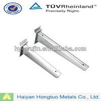 slatwall streight arm hooks/wood shelf bracket