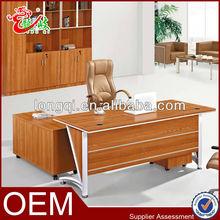 new design hot sale wood executive desk modern office table melamine office desk M6533