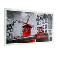 Moulin rouge de parís enmarcado impresiones/decoración de la pared enmarcada impresiones/parís imagen enmarcada impresiones