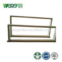 Pine or fir wood bee frames