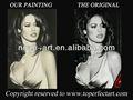 handgefertigt skizze moderne porträt Ölmalerei