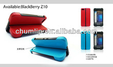 Simple bidirectiona support TPU case For BlackBerry Z10 Mobile Phone case