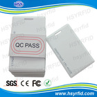 China factory RFID Proximity 125khz thickness id card with serial number