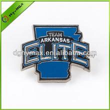 SMETA/FAMA pin button metal plastic badge