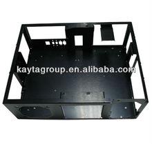 High Quality Black Powder Coating Aluminum CNC Sheet Metal Stamping Computer Case