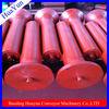 108mm diameter Q235 steel training carrying belt conveyor friction adjustable roller