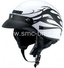 B153 cute half face german helmet
