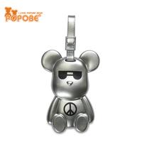 PVC POPOBE bear luggage customized luggage tag strap travel bag part luggag belt