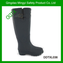 DDTXL036 soft ladies rubber rain boots