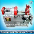 Tubería eléctrica máquina roscadora( ronda eléctrica de acero roscado de la máquina)