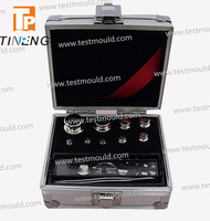 1mg-100g OIML Standard E2 Class Nonmagnetic Stainless Steel Weight Set calibration weight