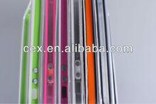 Clear Bumper Frame TPU Case for Apple iPhone 5