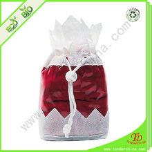 PVC drawstring bag for gift packing