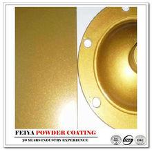 sparkle surface gold metallic powder paint