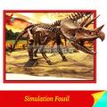 Prähistorischen simulation dinosaurier-fossil proben