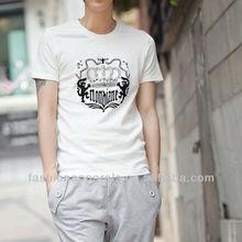 Breathable simple design for men's T-shirt