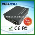 Usb rj45 10/100/1000 de fibra convertidor de los medios de comunicación