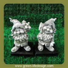 Resin decoration funny garden gnome