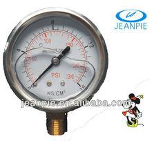 """2.5(63mm)""""oil filled pressure gauge"""