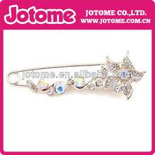 wholesale Elegant jewelry crystal Rhinestone brooches & hijab pins in bulk