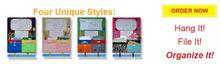 Multi-functional stationery homework folder Multifunctional Homework Caddy Storage Bag For Kid Stationery Storage Bag