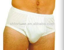 100% Nature silk men's underwear sexy men boxer briefs, European size
