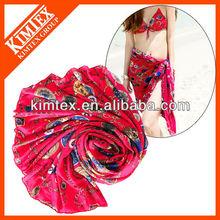 Colorful sarong,chiffon dresses
