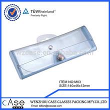 2014 wenzhou case soft pvc eyewear case for reading