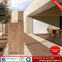 Wooden design Big size thin floor tile