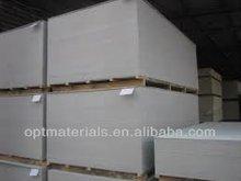 Gypsum board in thickness 9mm