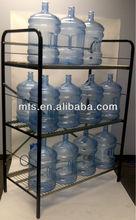 water bottle storage rack